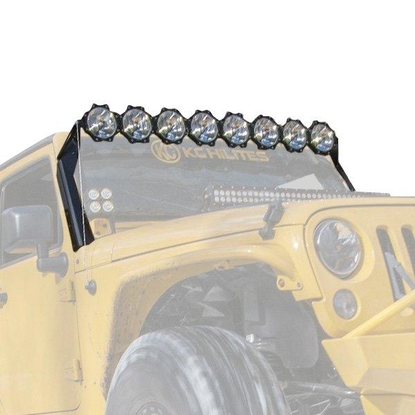 Kc hilites off road light kit kc hilites gravity pro6 50 160w combo beam led light bar aloadofball Choice Image