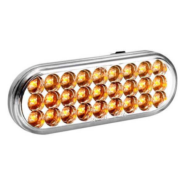 KC HiLiTES® - Utility LED Amber with Clear Lens Turn Signal Light