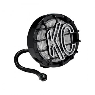 "KC HiLiTES® - 6"" SlimLite Series Black Fog Light"
