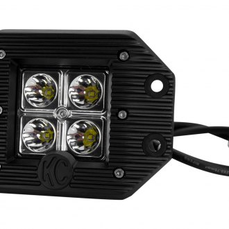 "KC HiLiTES® - 3"" C-Series 12W Driving Lights Flush Mounted"