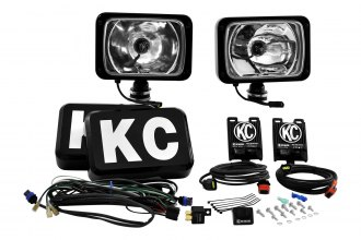 KC HiLiTES® 261 - HID 6x9 Black Long Range Lights