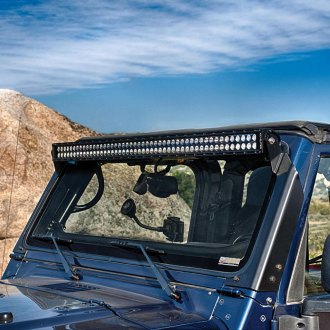 "KC HiLiTES® - 50"" C-Series Dual Row Long LED Light Bar with Overhead Bracket Kit"
