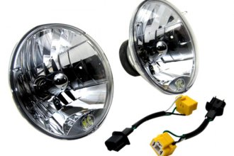 "KC HiLiTES® - 7"" Chrome Round Headlight Conversion Kit"