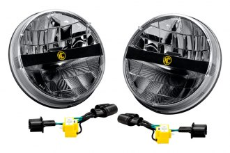 "KC HiLiTES® - 7"" Round LED Headlights"