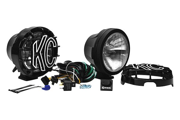 "KC HiLiTES® - Pro Sport HID 6"" Black Lights"