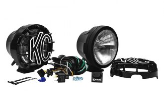 KC HiLiTES® - Black Long Range Lights