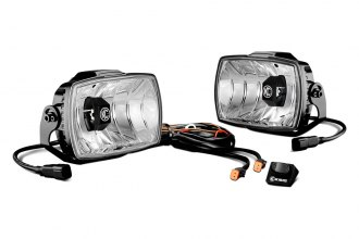 "KC HiLiTES® - 4x6"" Gravity Series LED Fog Lights, Street Legal"