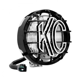 "KC HiLiTES® - SlimLite™ 6"" Round Chrome Fog Light"