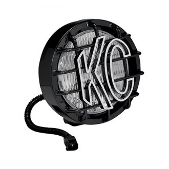 "KC HiLiTES® - SlimLite™ 6"" Round Black Fog Light"