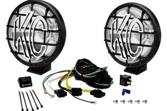"KC HiLiTES® 150 - 6"" Apollo Pro Series 100W Spot Lights, Pair"
