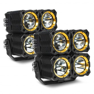 KC HiLiTES® - Flex LED 40W Quad Combo Driving Lights
