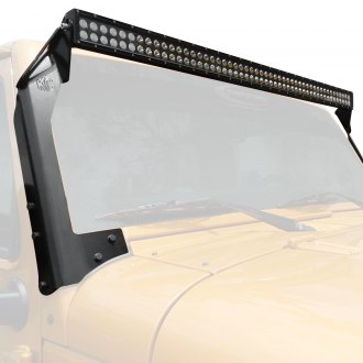 "KC HiLiTES® - 50"" C-Series Dual Row LED Light Bar with Overhead Bracket Kit"