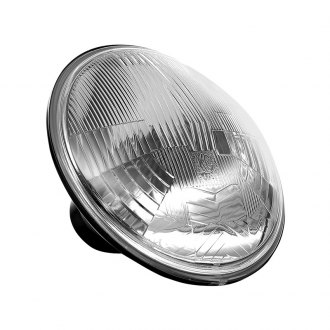 "KC HiLiTES® - 7"" Round Chrome OEM Style Headlights Off-Road Use Only"