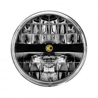 "KC HiLiTES® - 7"" Round Chrome LED Headlights"
