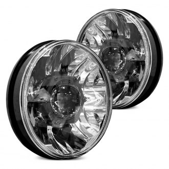 "KC HiLiTES® - 7"" Round Chrome Gravity Pro LED Headlights"