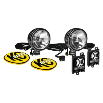 "KC HiLiTES® - 6"" HID Series 12V-50W Polished Stainless Steel Spot Lights"