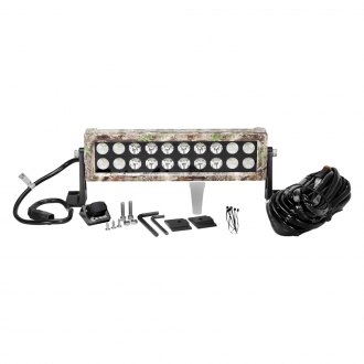 "KC HiLiTES® - C-Series Tree Camo Dual Row Short LED Light Bar (6"", 10"")"