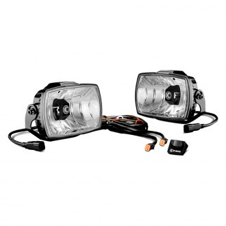 "KC HiLiTES® - 4""x6"" Gravity Series LED Driving Lights, Street Legal"