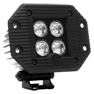 "KC HiLiTES® - 3"" LZR Series LED 20W Driving Lights Flush Mounted"