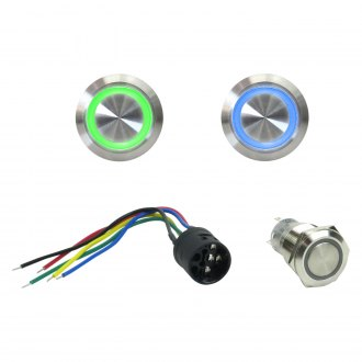 Keep It Clean® - Latching Billet LED Button