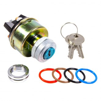 Keep It Clean® - Classic Billet Ignition Switch with 4 Color O-Rings