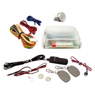 Keep It Clean® - White One Touch Engine Start Kit with RFID