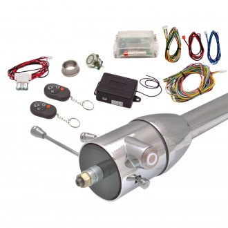 Keep It Clean® - White One Touch Engine Start Kit with Column Insert and Remote