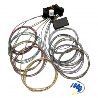 Keep It Clean® - Retro Series Basic 8 Fuse Cloth Wire Harness System