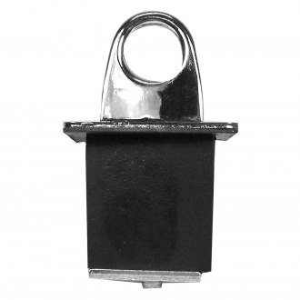 Keeper® - Chrome Ring Stake Pocket Anchor Point with Rubber Block