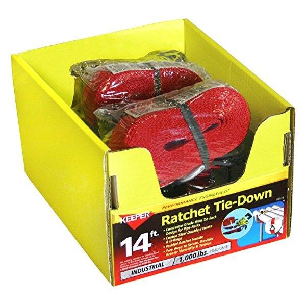 """Keeper® - 14' 1-1/2"""" Pro Ratchet Tie-Down"""