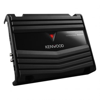 Kenwood® - Class AB 2-Channel 400W Amplifier