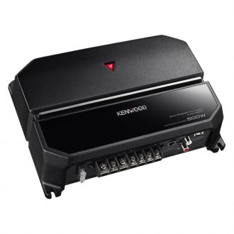 Kenwood® - Class AB 2-Channel 500W Amplifier