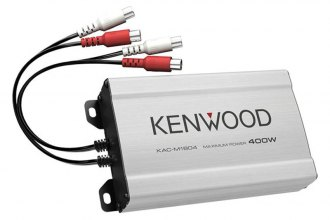 Kenwood® - Class D 4-Channel 400W Amplifier