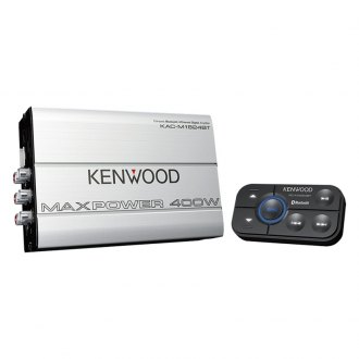 Kenwood® - Class D 4-Channel 400W Amplifier with Built-In Bluetooth