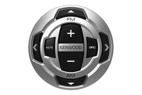 Kenwood® - Rounded Wired Marine LCD Remote