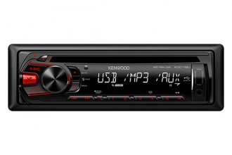 Kenwood® - Single DIN In-Dash CD/MP3/AM/FM Receiver