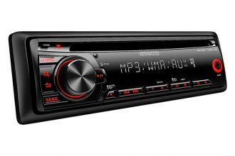 Kenwood® - Single DIN In-Dash CD/MP3/WMA/AM/FM Receiver