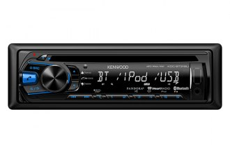 Kenwood® - Single DIN In-Dash CD/MP3 Receiver with Pandora, iHeart Radio Support, iPod Control and Remote