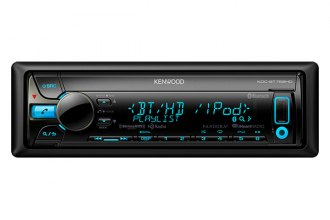 Kenwood® - Single DIN In-Dash CD/MP3 Receiver with Internet Radio Control