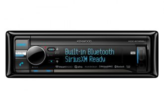 Kenwood® - Single DIN In-Dash CD/MP3 Receiver with 2-Way iPod Control and SiriusXM Ready