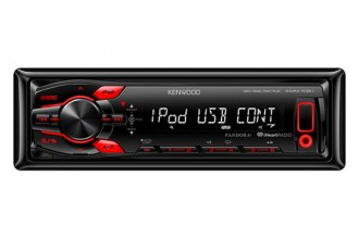 Kenwood® - Single DIN In-Dash MP3/WMA/AM/FM Car Digital Media Receiver