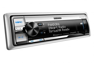 Kenwood® - Single DIN Marine In-Dash CD/MP3/AM/FM Stereo Receiver with SiriusXM
