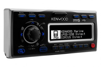 Kenwood® - Single DIN Marine In-Dash MP3/AM/FM Media Stereo Receiver with SiriusXM