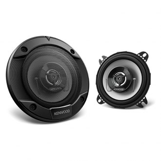 "Kenwood® - 4"" 2-Way Sports Series 220W Coaxial Speakers"