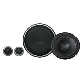 "Kenwood® - 6-1/2"" 2-Way Performance Series 280W Component Speakers"