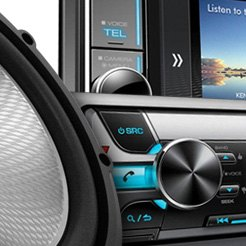 Kenwood® - CD Stereo With Bluetooth