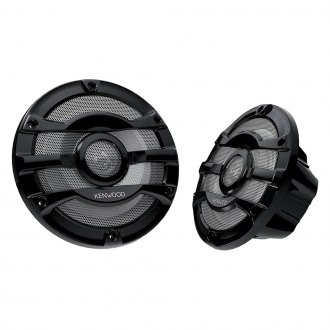 "Kenwood® - 8"" 2-Way 300W Marine Flush Speakers"