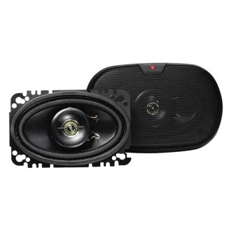 "Kenwood® - 4"" x 6"" 2-Way 60W Coaxial Car Speakers"