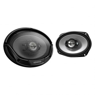 "Kenwood® - 6"" x 9"" Sport Series 3-Way 400W Car Speakers"