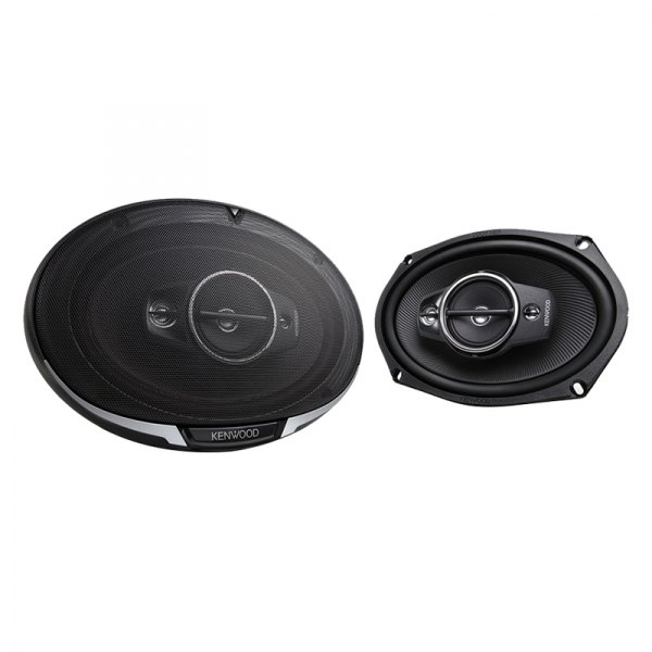 "Kenwood® - 6"" x 9"" 4-Way Performance Series 600W Coaxial Speakers"
